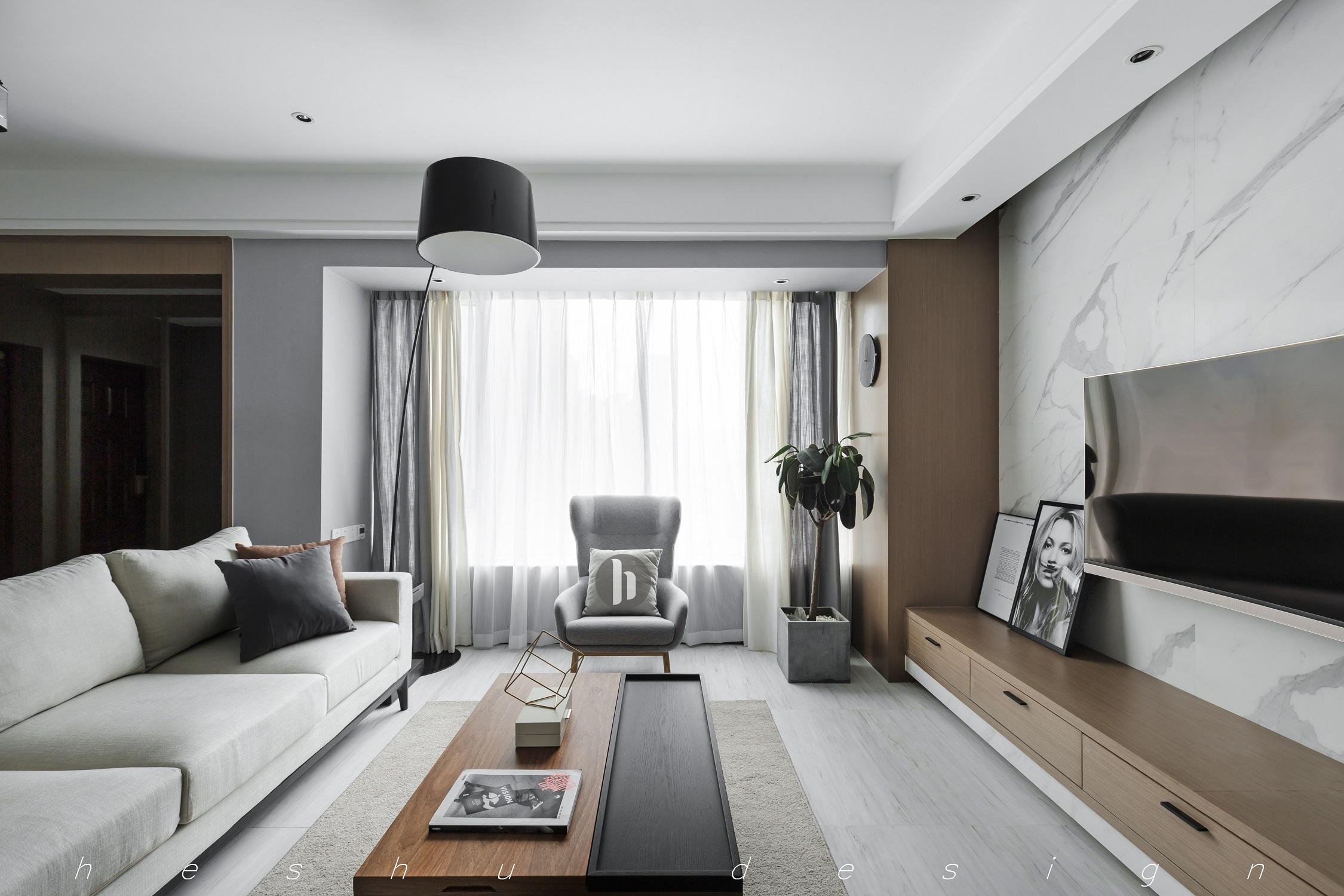 120平简约风之家窗帘图片