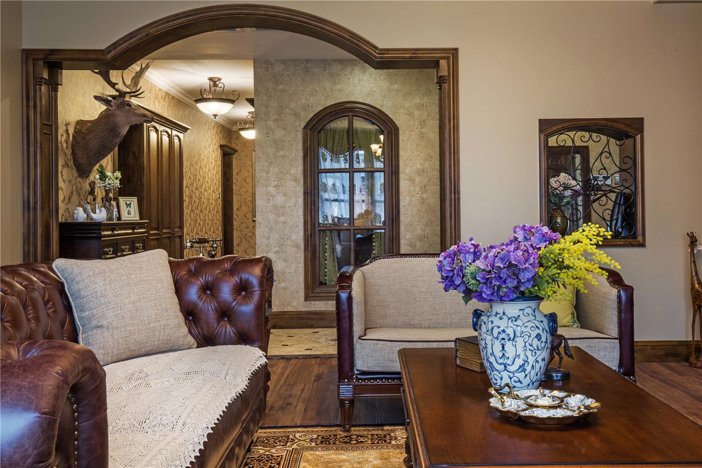 175平美式风格家沙发图片