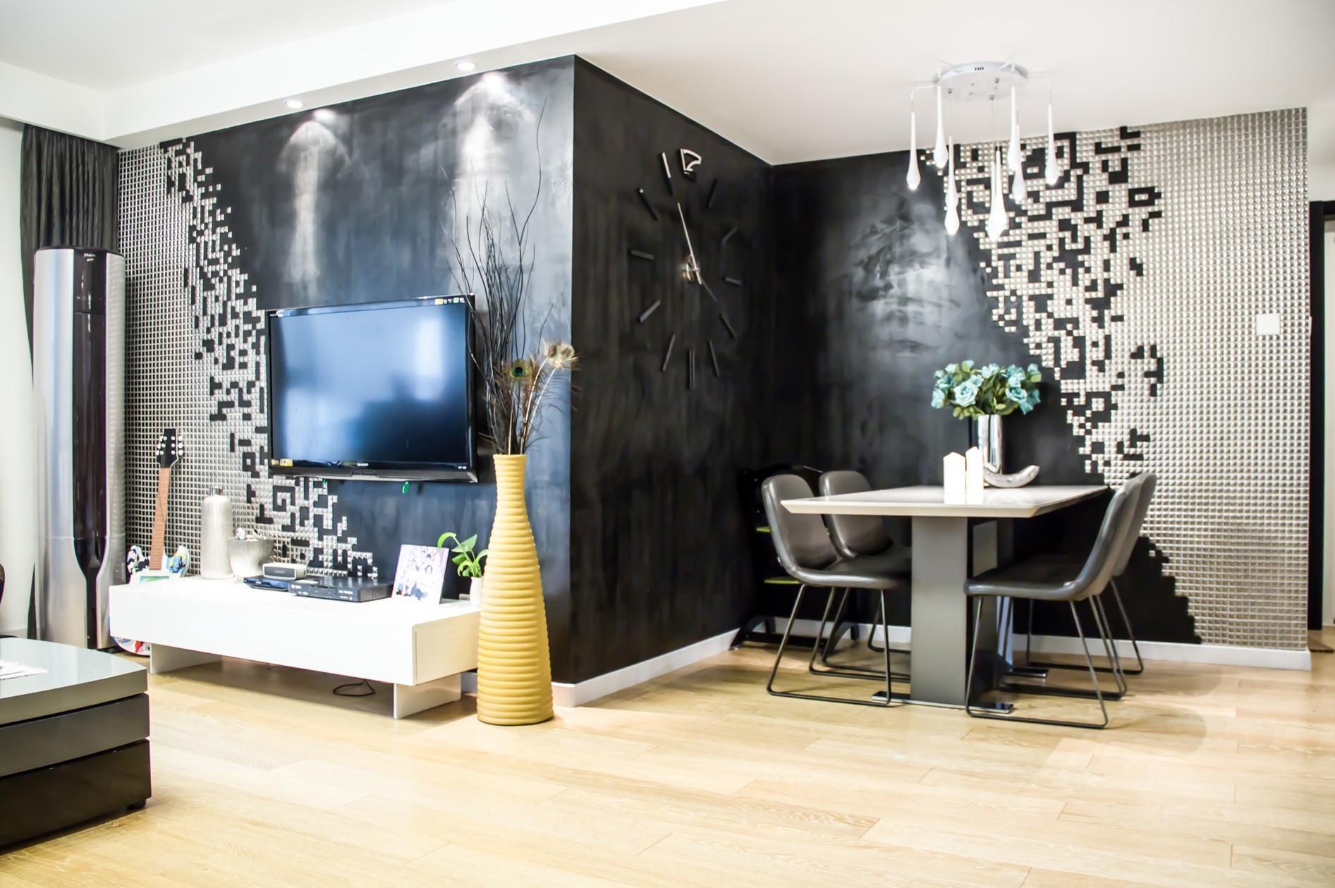 现代简约装修背景墙设计
