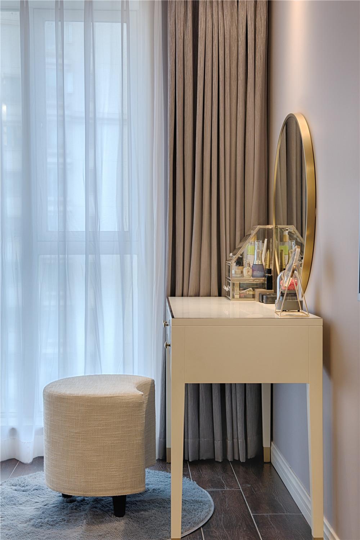 四居室现代美式家梳妆台图片