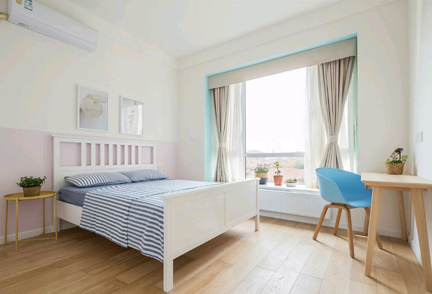 现代日式三居次卧设计图