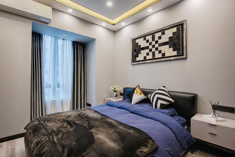 一居室混搭装修卧室效果图