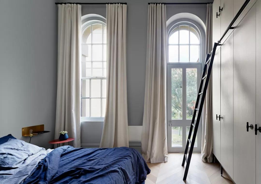 90㎡北欧风二居装修卧室搭配图