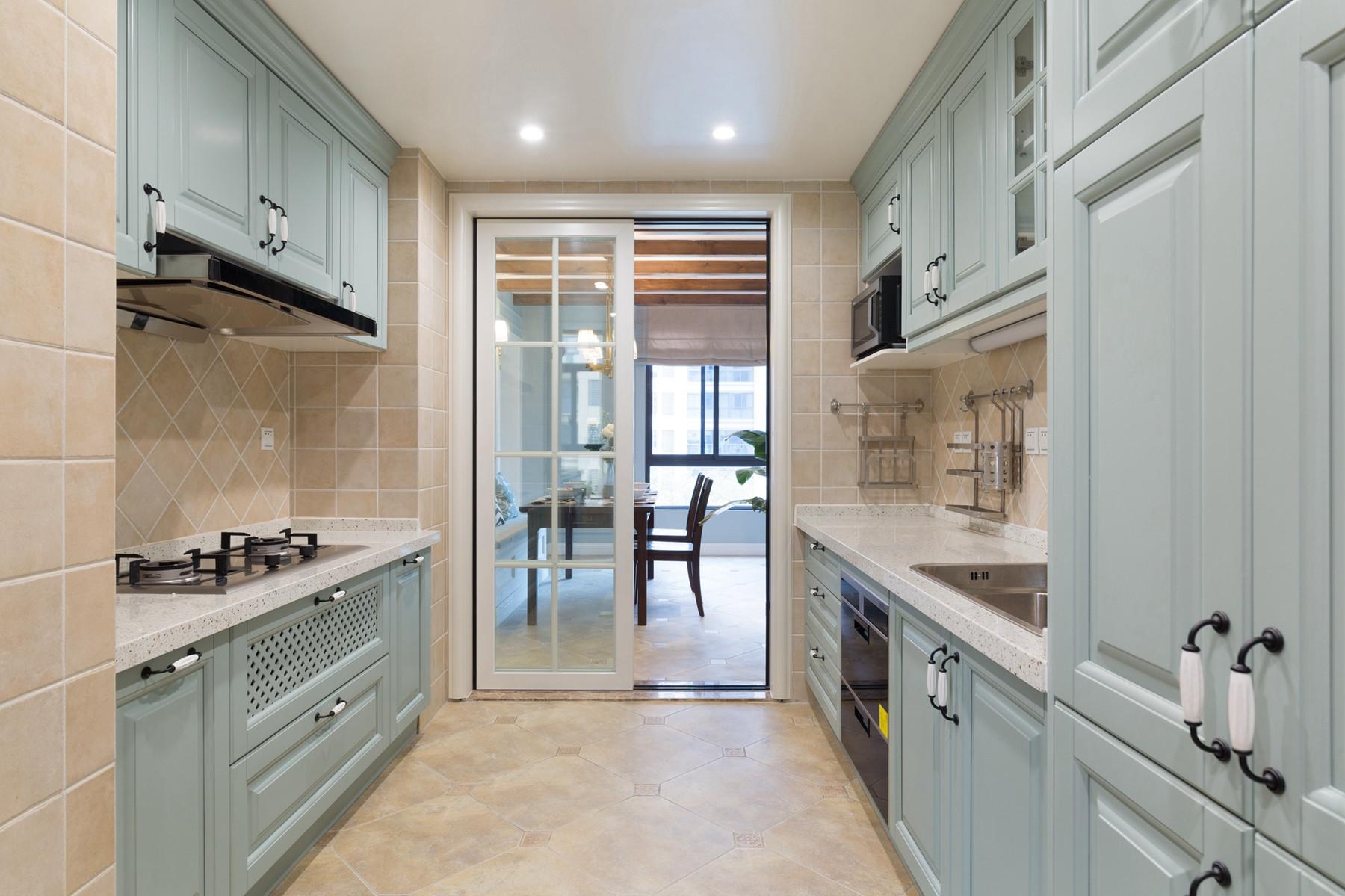 150平美式风格家橱柜设计图