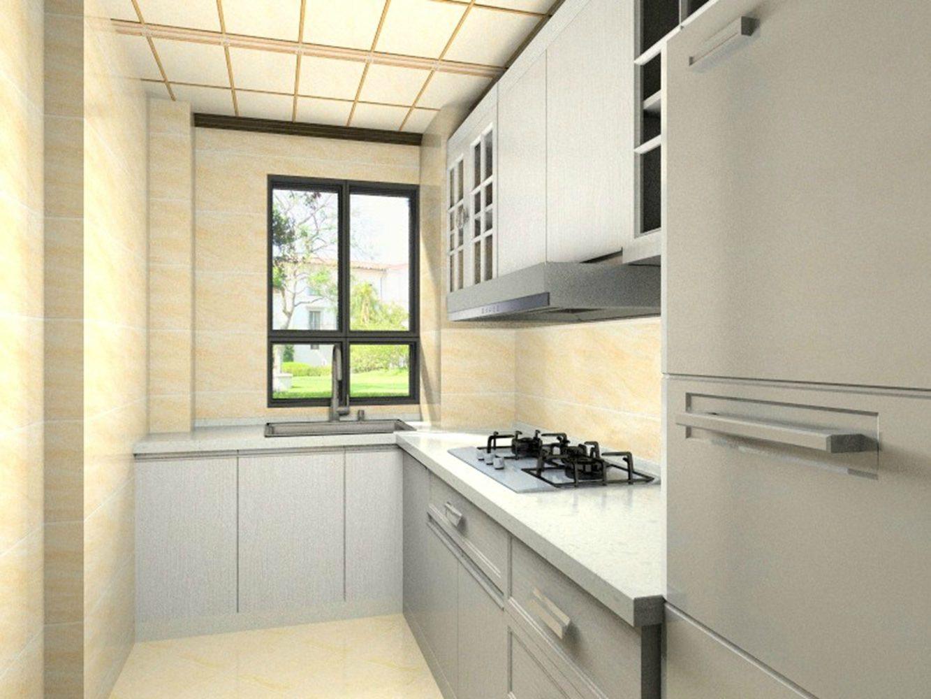 90㎡三居装修厨房效果图