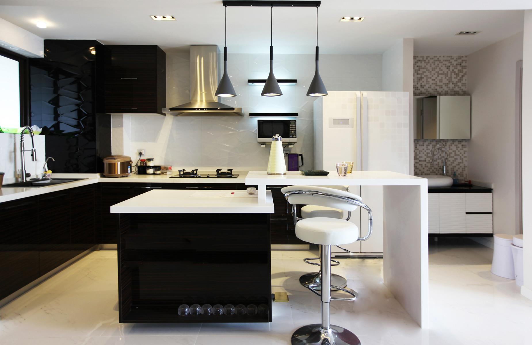 158平loft装修厨房效果图