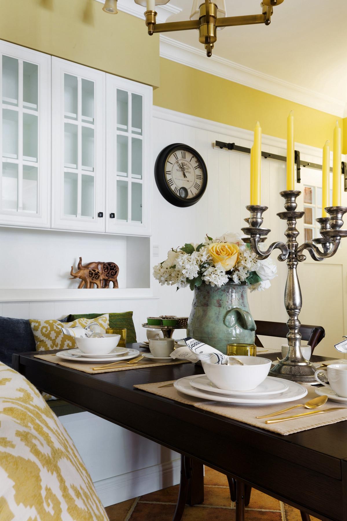 美式风格三居之家餐桌摆件