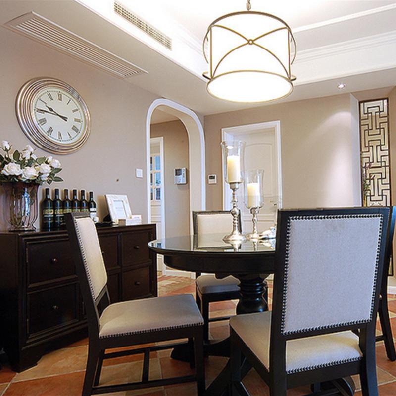 美式风格三居之家餐厅装修效果图