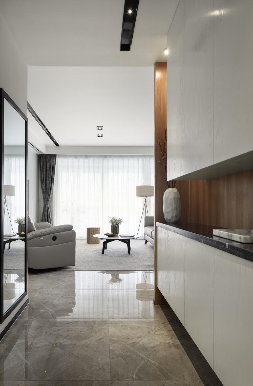 三居室简约风格家玄关设计