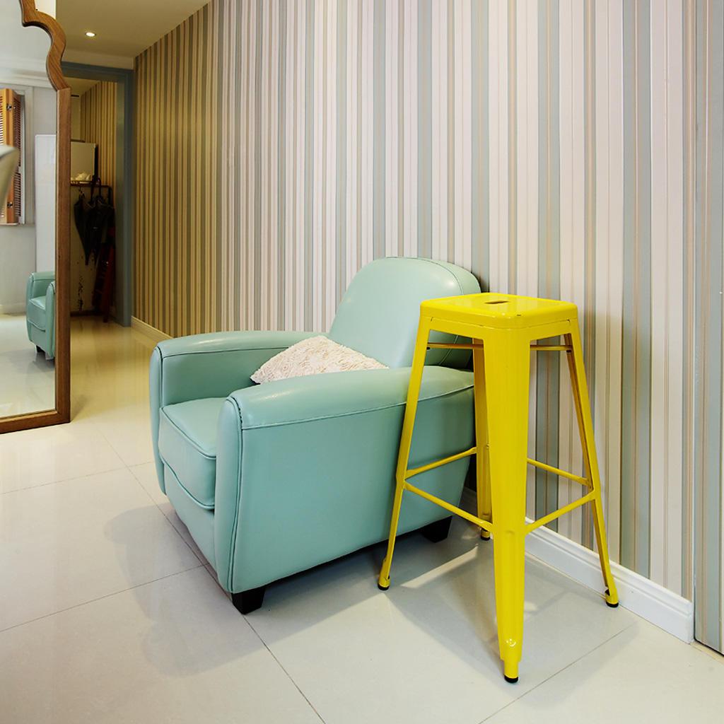 美式清新薄荷绿小沙发效果图