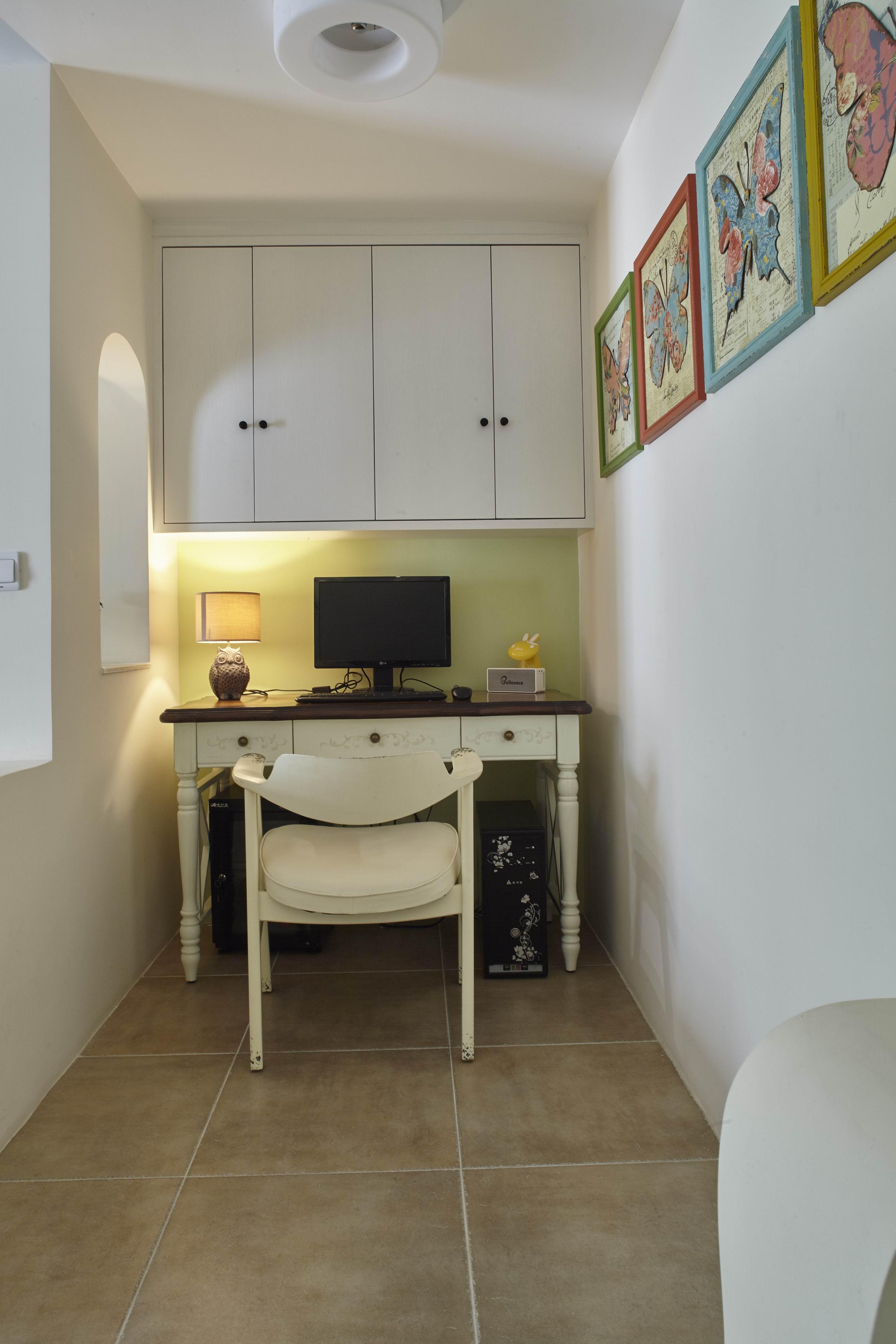 二居室美式之家书房工作区