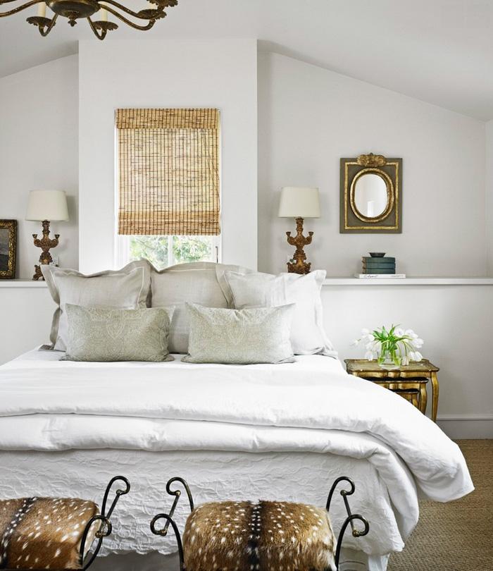 浪漫哥特式北欧风情尖顶卧室设计