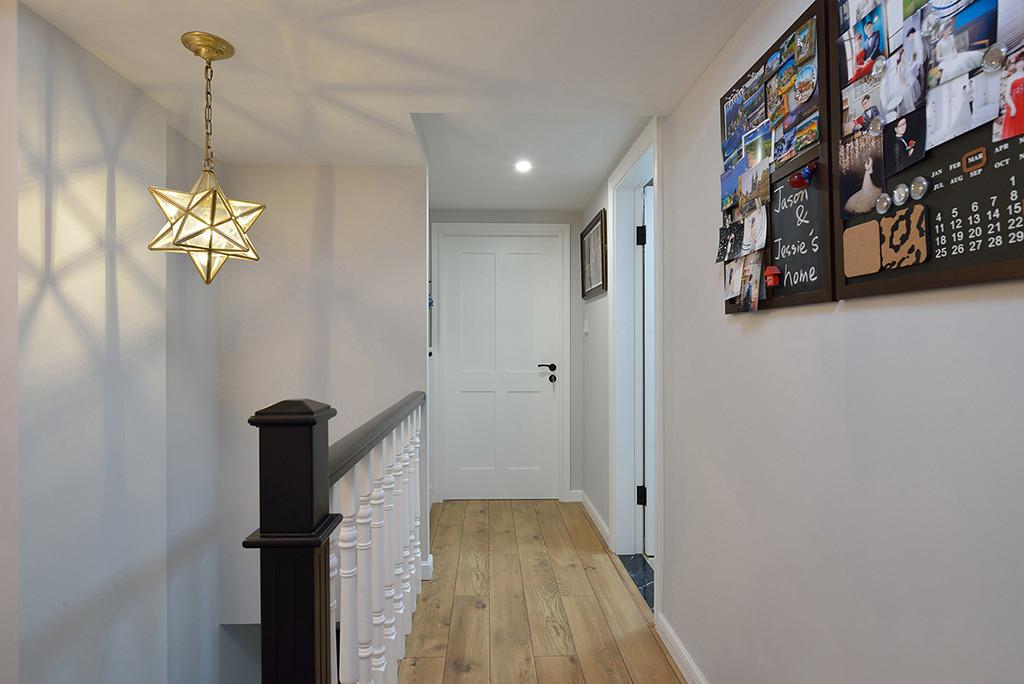 120平复式二居装修走廊图片