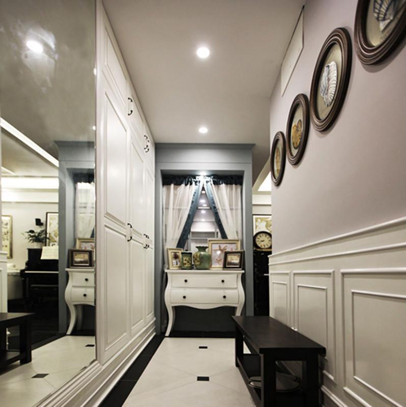 简约美式风格四居走廊装修效果图