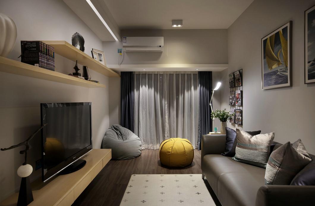 现代简约休闲室装修设计效果图