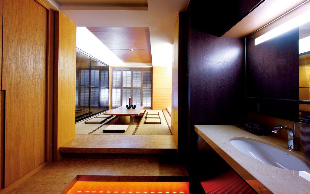 现代日式风 公寓室内榻榻米设计