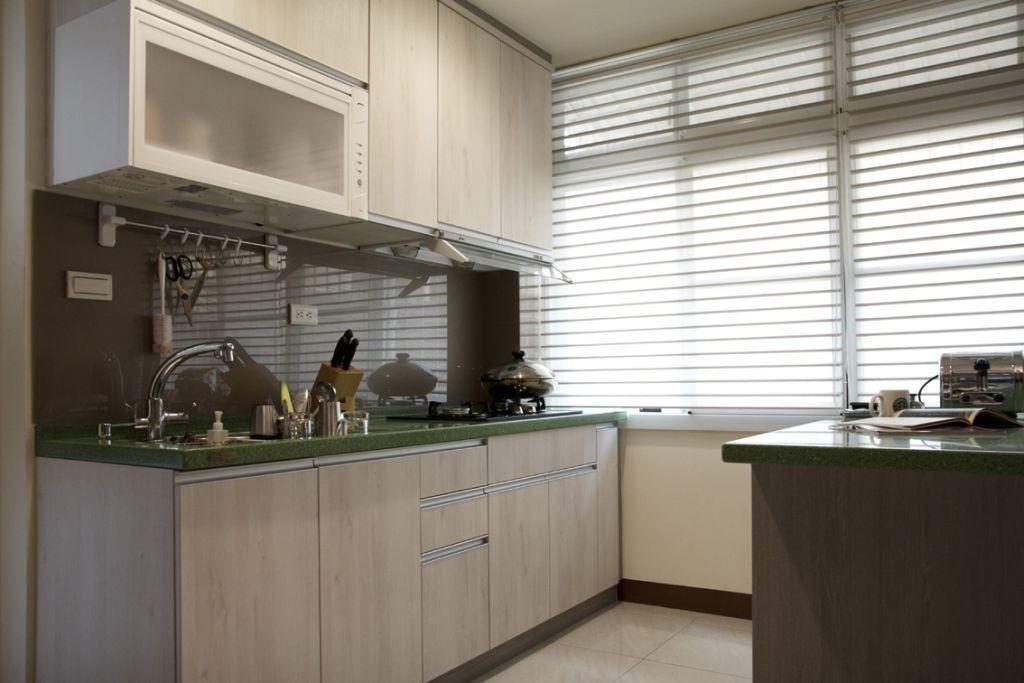 现代风格小户型厨房设计