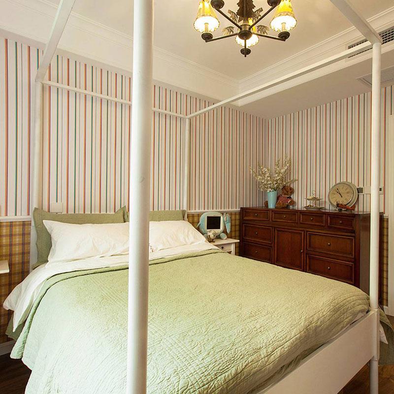 美式风格二居室70平米装修图片