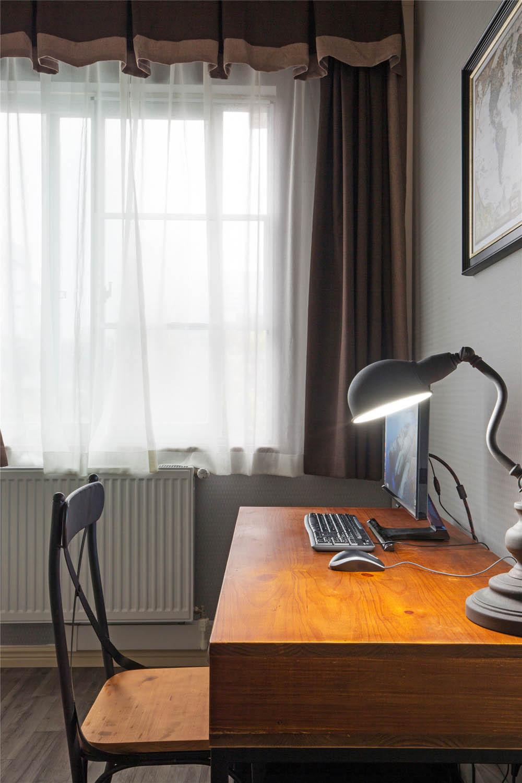 三居室混搭风格家书桌图片