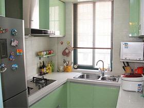 12款开放式设计 厨房装修效果图