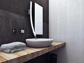 卫生间里添风采  10个马赛克墙面设计图