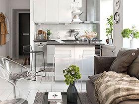 62平北欧风格单身公寓效果图 充满格调的家