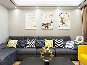 轻快的新中式风格 精致空间好舒适