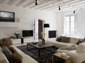 实木打造 巴塞罗那130平现代公寓
