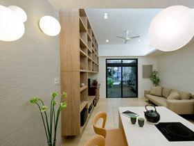 清新宜家新中式公寓 超强收纳值得点赞