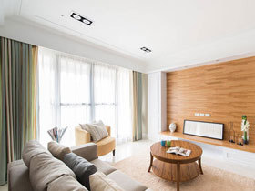 自然森系宜家风 三居装修精致设计