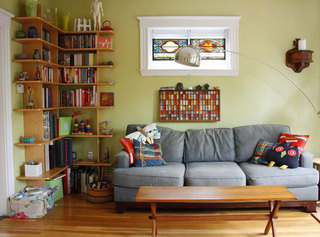 宜家混搭风两居室 重收纳让生活更舒适