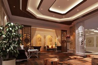 美容院室内休闲区设计图片欣赏