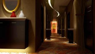 美容院室内布置设计效果图