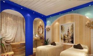 美容院洗手间装修效果图