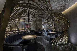 西餐厅装修设计 创意神秘