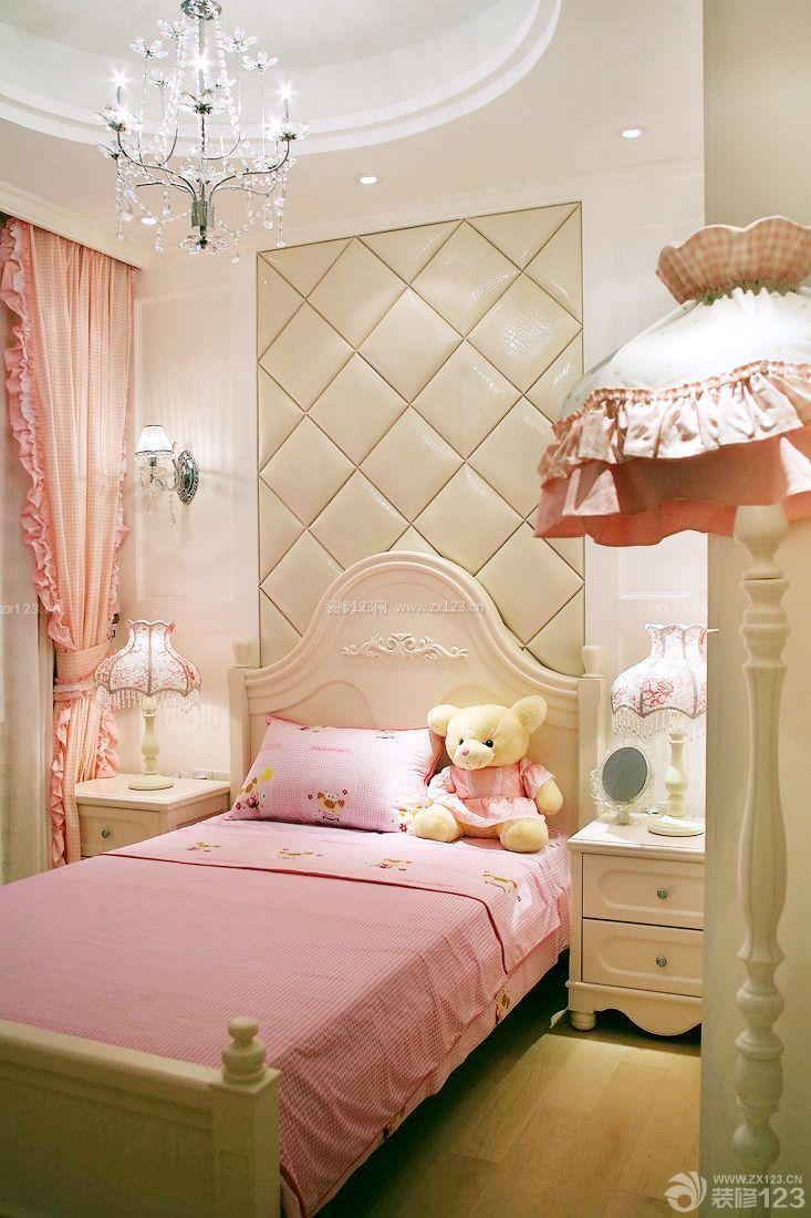 温馨三室两厅装修样板间欧式卧室设计