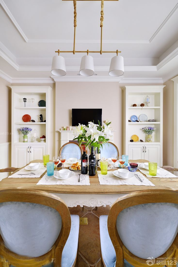 高层小户型餐厅装饰装修设计图