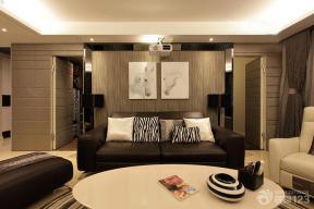 现代设计风格家庭休闲区装修实景图