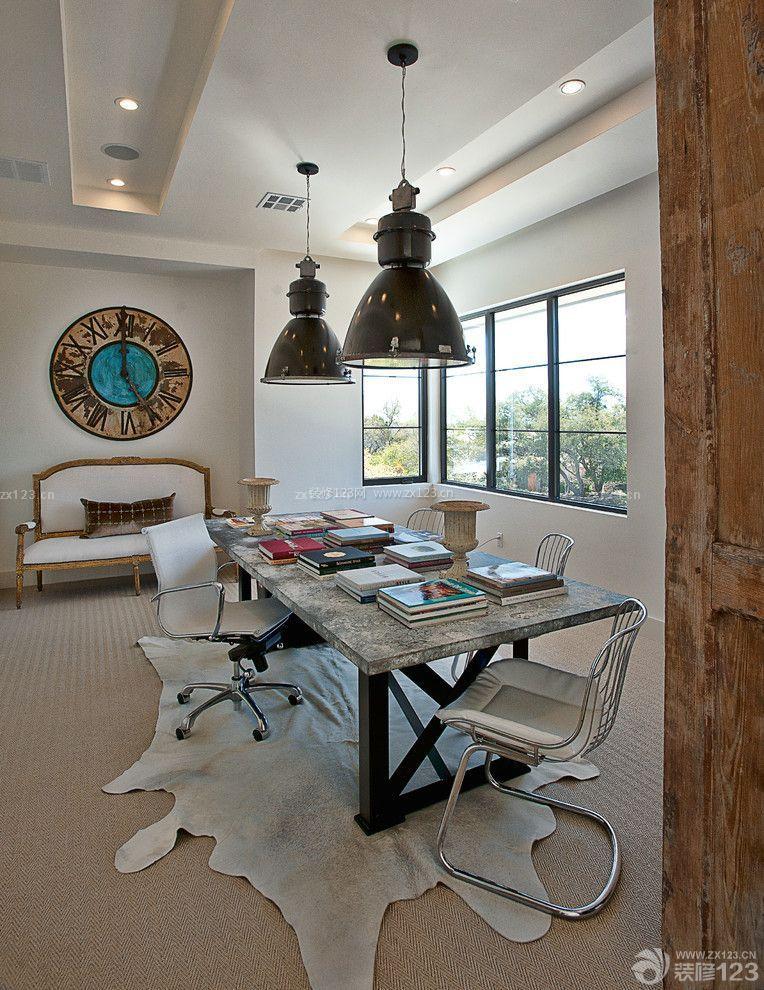 简约混搭风格创意家居书桌设计图片欣赏