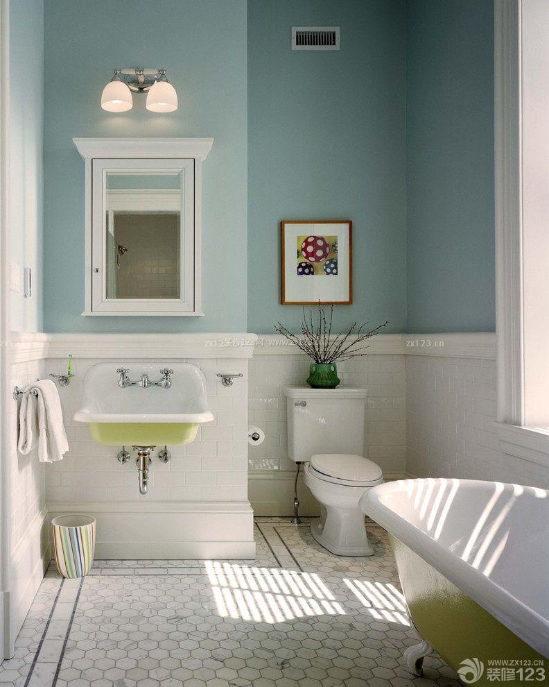 80平米房子卫生间样板房设计
