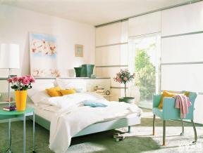 110平小清新女生卧室设计效果图欣赏