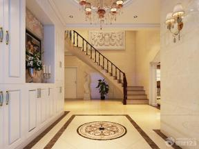 欧式装潢设计入户玄关装修效果图