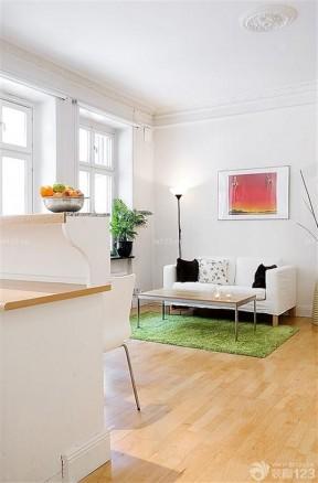 精致60平米小户型小客厅简约装修效果图