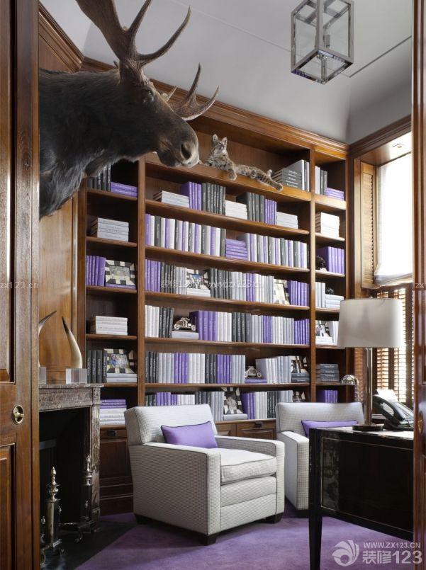 东南亚风格书房装修效果图欣赏