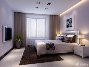 现代简约风格卧室装修设计效果图