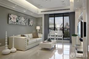 欧式家居客厅样板房设计
