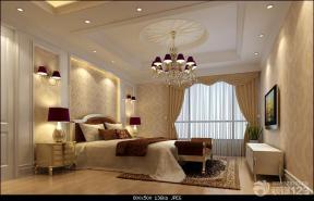 欧式家居主卧室效果图