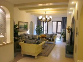 经典房屋客厅吊顶设计案例