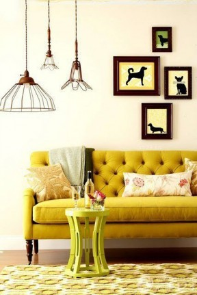 时尚简约风格家装美式沙发装潢效果图