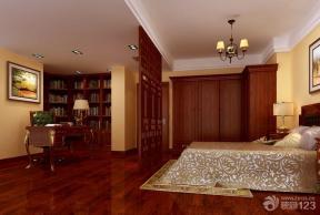 中式家居主卧室装饰效果图